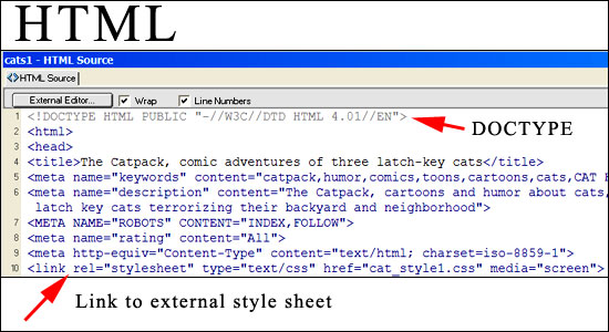 how to connect multiple css pages in oe html